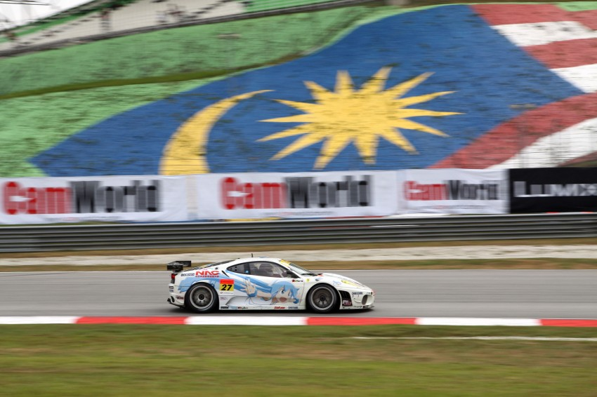 Autobacs Super GT 2012 Round 3: Weider HSV-010 and Hankook Porsche win from pole position Image #111823