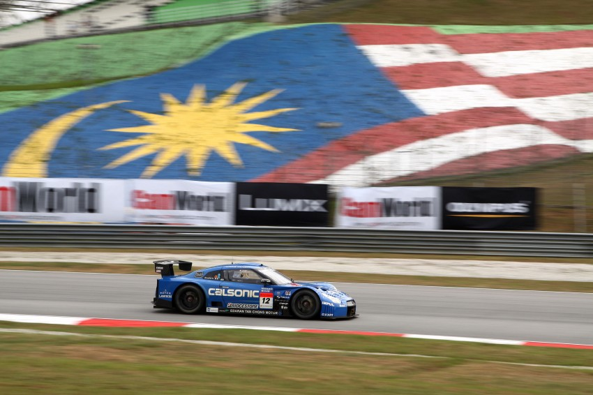 Autobacs Super GT 2012 Round 3: Weider HSV-010 and Hankook Porsche win from pole position Image #111828
