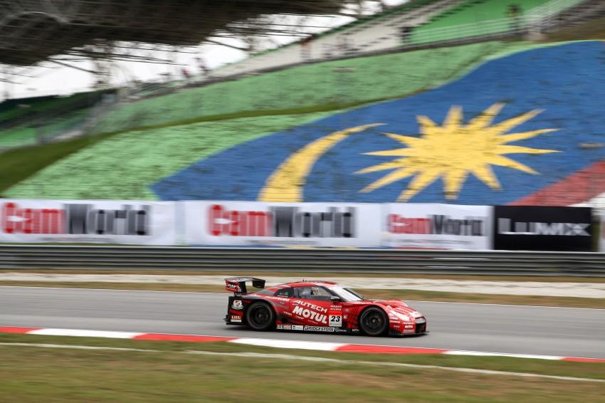 Autobacs Super GT 2012 Round 3: Weider HSV-010 and Hankook Porsche win from pole position Image #111829