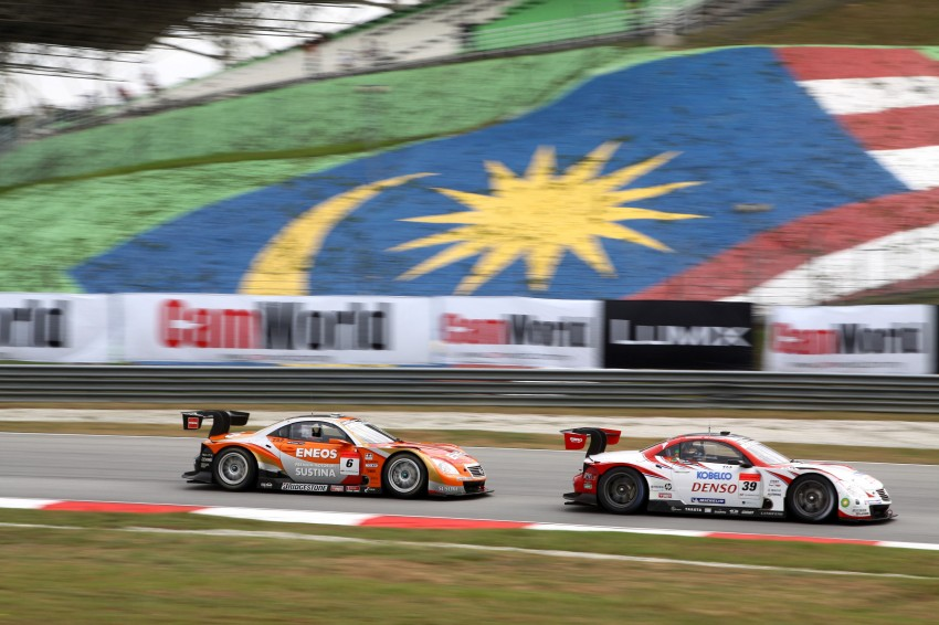 Autobacs Super GT 2012 Round 3: Weider HSV-010 and Hankook Porsche win from pole position Image #111811