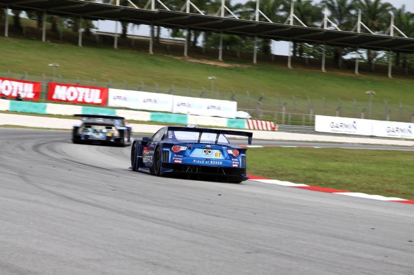 Autobacs Super GT 2012 Round 3: Weider HSV-010 and Hankook Porsche win from pole position Image #111835