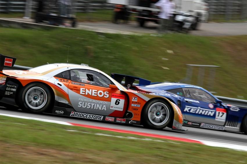 Autobacs Super GT 2012 Round 3: Weider HSV-010 and Hankook Porsche win from pole position Image #111836