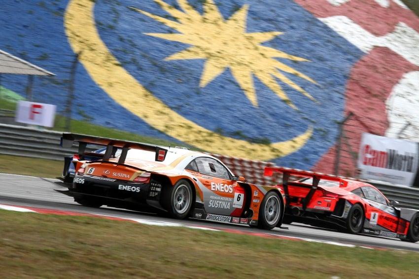 Autobacs Super GT 2012 Round 3: Weider HSV-010 and Hankook Porsche win from pole position Image #111815