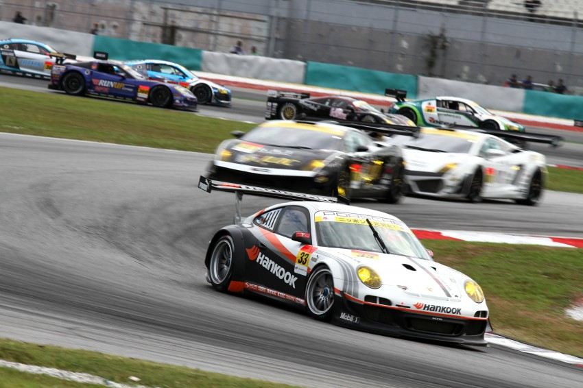 Autobacs Super GT 2012 Round 3: Weider HSV-010 and Hankook Porsche win from pole position Image #111813