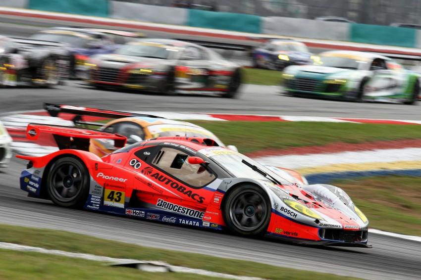 Autobacs Super GT 2012 Round 3: Weider HSV-010 and Hankook Porsche win from pole position Image #111838