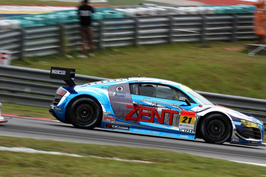 Autobacs Super GT 2012 Round 3: Weider HSV-010 and Hankook Porsche win from pole position Image #111840