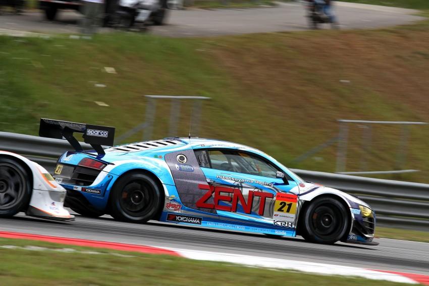 Autobacs Super GT 2012 Round 3: Weider HSV-010 and Hankook Porsche win from pole position Image #111841
