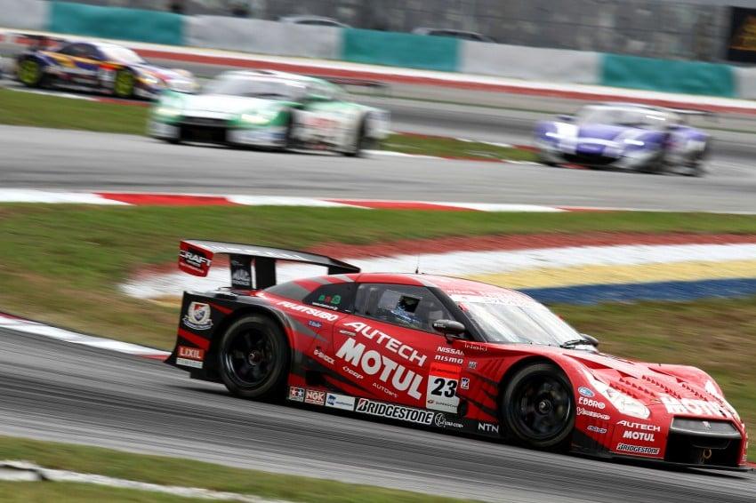 Autobacs Super GT 2012 Round 3: Weider HSV-010 and Hankook Porsche win from pole position Image #111843