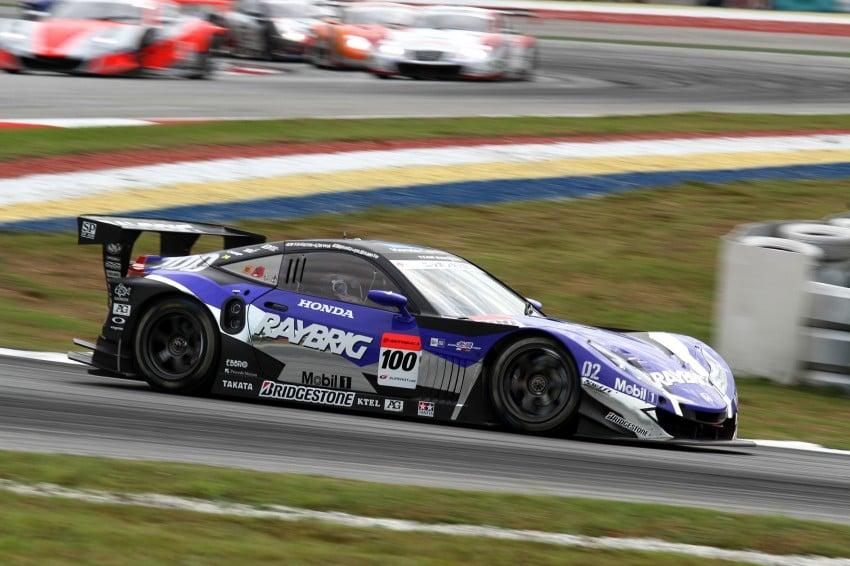 Autobacs Super GT 2012 Round 3: Weider HSV-010 and Hankook Porsche win from pole position Image #111845