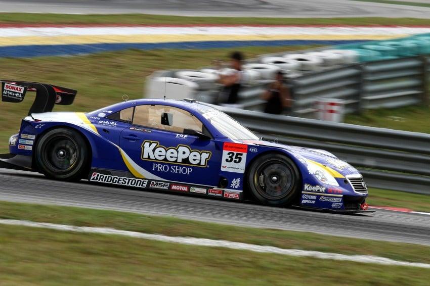 Autobacs Super GT 2012 Round 3: Weider HSV-010 and Hankook Porsche win from pole position Image #111846