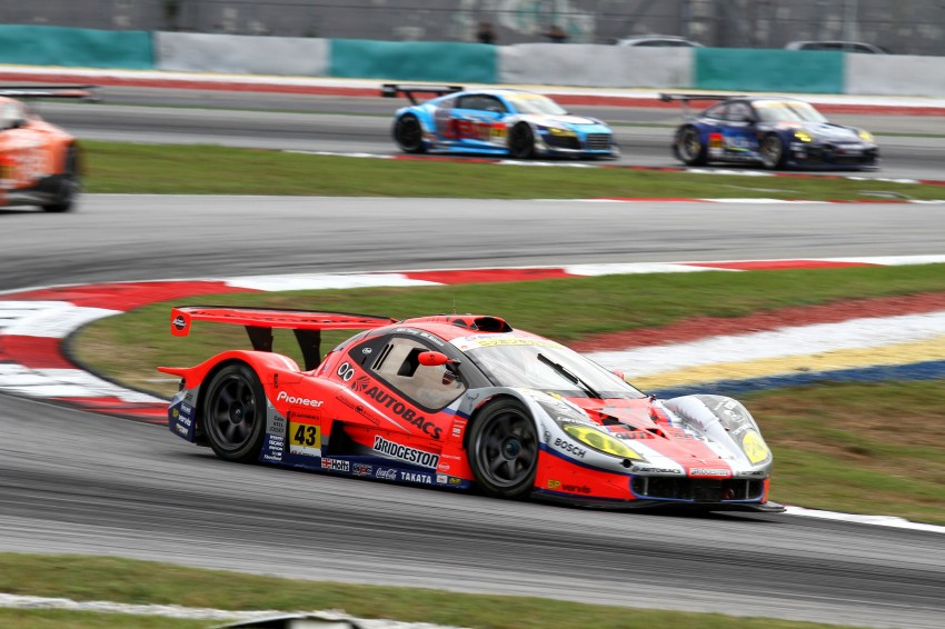 Autobacs Super GT 2012 Round 3: Weider HSV-010 and Hankook Porsche win from pole position Image #111850