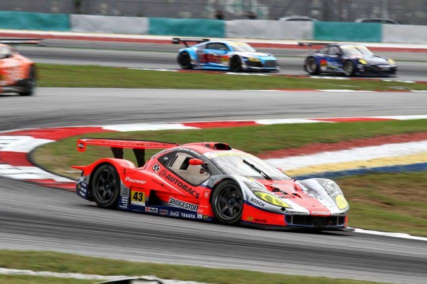 Autobacs Super GT 2012 Round 3: Weider HSV-010 and Hankook Porsche win from pole position Image #111850