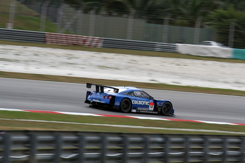 Autobacs Super GT 2012 Round 3: Weider HSV-010 and Hankook Porsche win from pole position Image #111853
