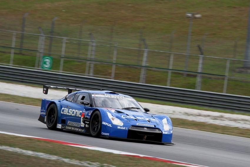 Autobacs Super GT 2012 Round 3: Weider HSV-010 and Hankook Porsche win from pole position Image #111857