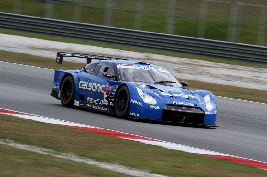 Autobacs Super GT 2012 Round 3: Weider HSV-010 and Hankook Porsche win from pole position Image #111861