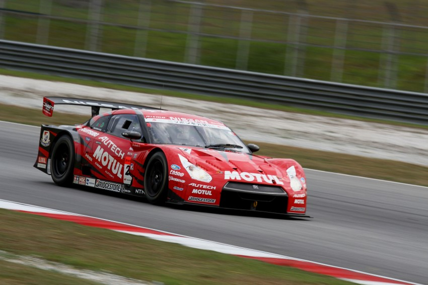 Autobacs Super GT 2012 Round 3: Weider HSV-010 and Hankook Porsche win from pole position Image #111862