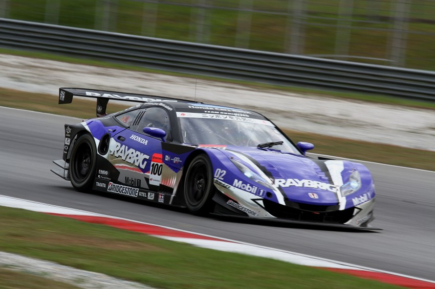 Autobacs Super GT 2012 Round 3: Weider HSV-010 and Hankook Porsche win from pole position Image #111865