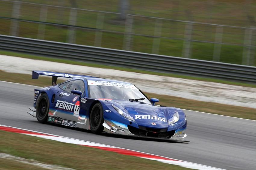 Autobacs Super GT 2012 Round 3: Weider HSV-010 and Hankook Porsche win from pole position Image #111866