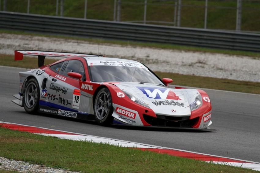 Autobacs Super GT 2012 Round 3: Weider HSV-010 and Hankook Porsche win from pole position Image #111869