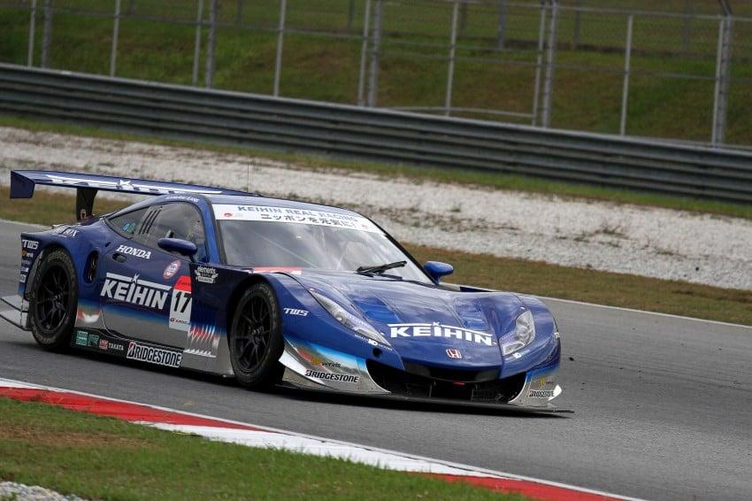 Autobacs Super GT 2012 Round 3: Weider HSV-010 and Hankook Porsche win from pole position Image #111875
