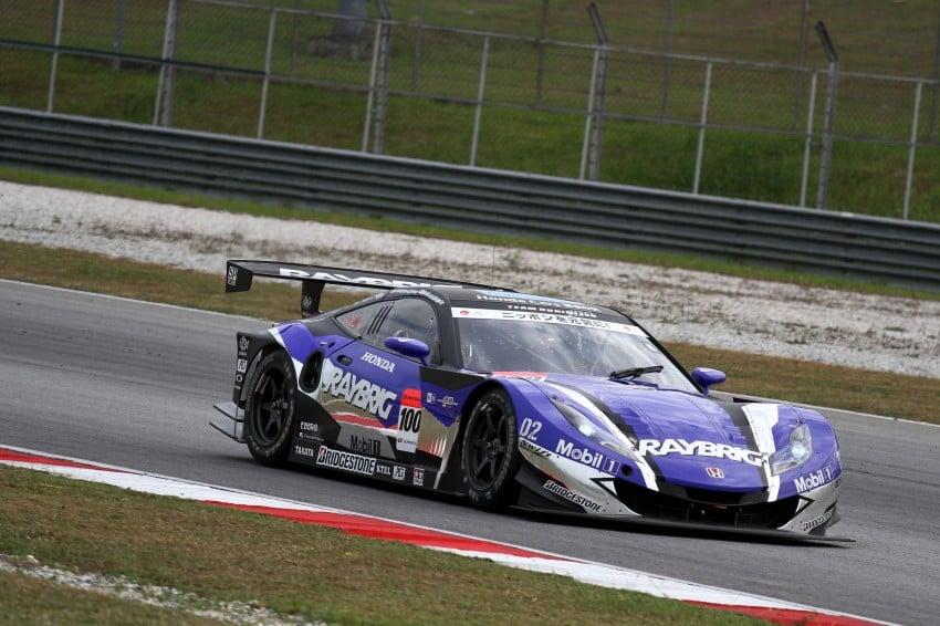 Autobacs Super GT 2012 Round 3: Weider HSV-010 and Hankook Porsche win from pole position Image #111880