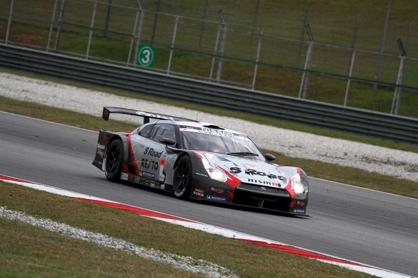 Autobacs Super GT 2012 Round 3: Weider HSV-010 and Hankook Porsche win from pole position Image #111881