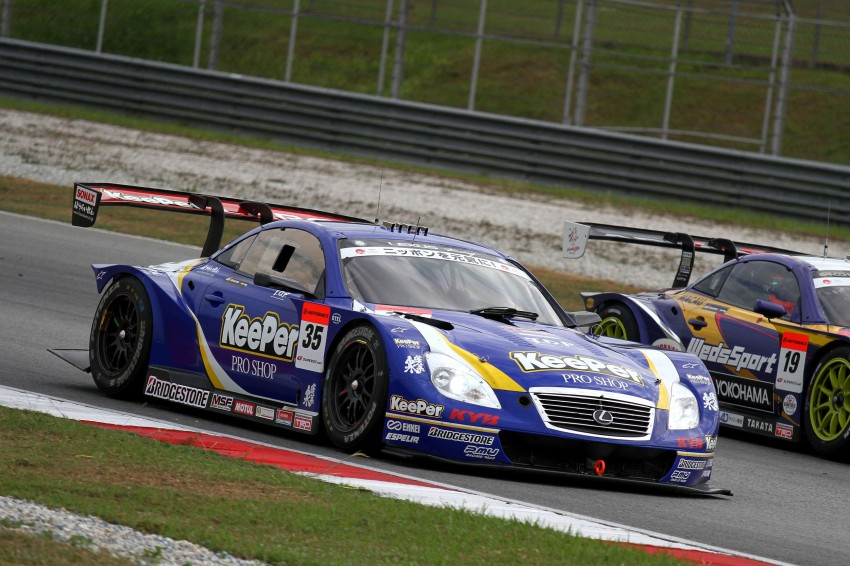 Autobacs Super GT 2012 Round 3: Weider HSV-010 and Hankook Porsche win from pole position Image #111882