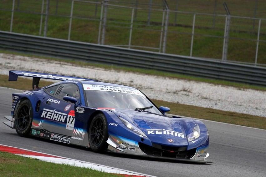 Autobacs Super GT 2012 Round 3: Weider HSV-010 and Hankook Porsche win from pole position Image #111884