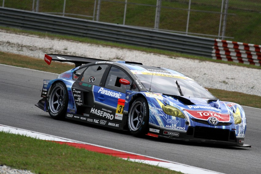 Autobacs Super GT 2012 Round 3: Weider HSV-010 and Hankook Porsche win from pole position Image #111889