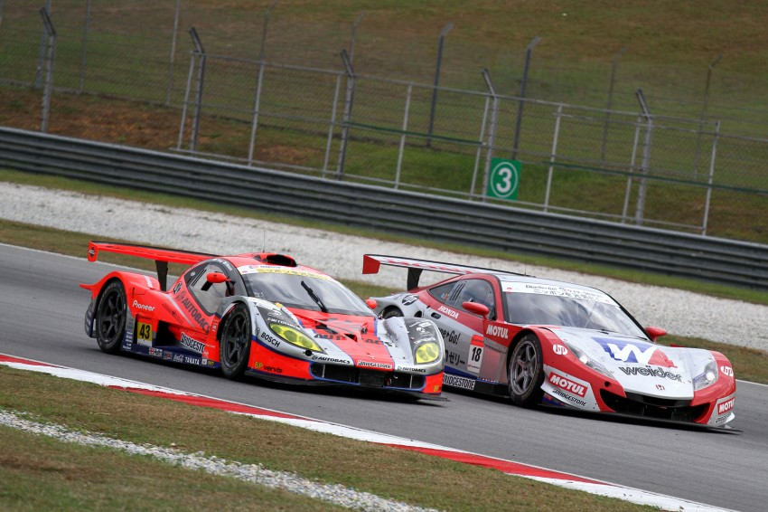 Autobacs Super GT 2012 Round 3: Weider HSV-010 and Hankook Porsche win from pole position Image #111891