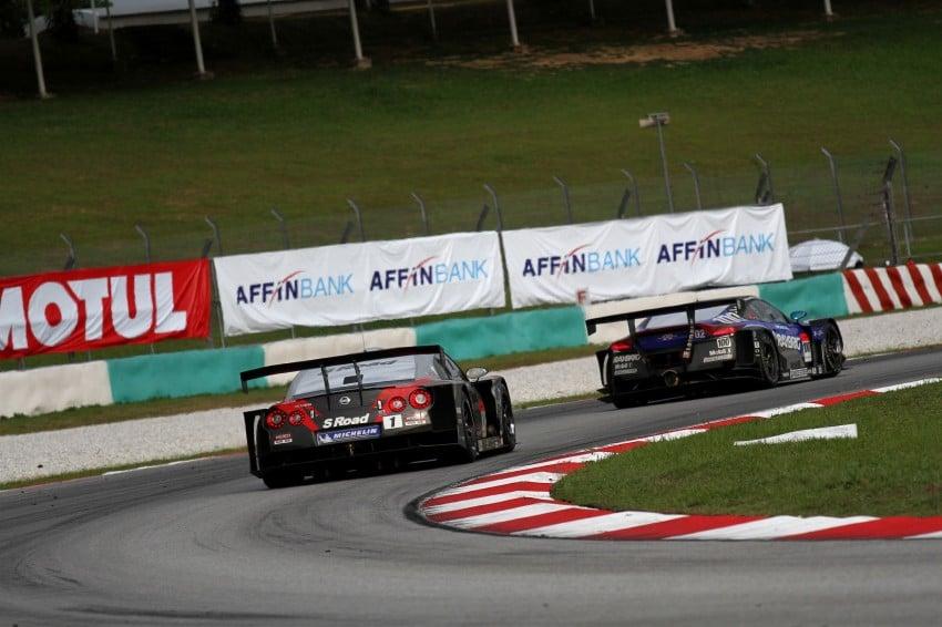 Autobacs Super GT 2012 Round 3: Weider HSV-010 and Hankook Porsche win from pole position Image #111893