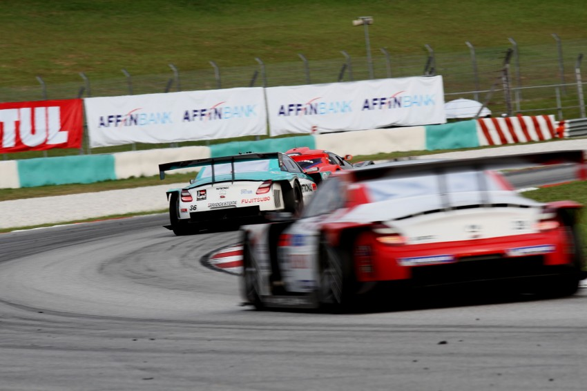 Autobacs Super GT 2012 Round 3: Weider HSV-010 and Hankook Porsche win from pole position Image #111900