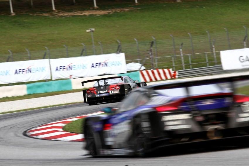 Autobacs Super GT 2012 Round 3: Weider HSV-010 and Hankook Porsche win from pole position Image #111902