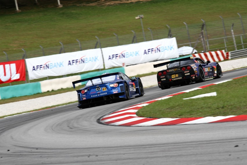 Autobacs Super GT 2012 Round 3: Weider HSV-010 and Hankook Porsche win from pole position Image #111910