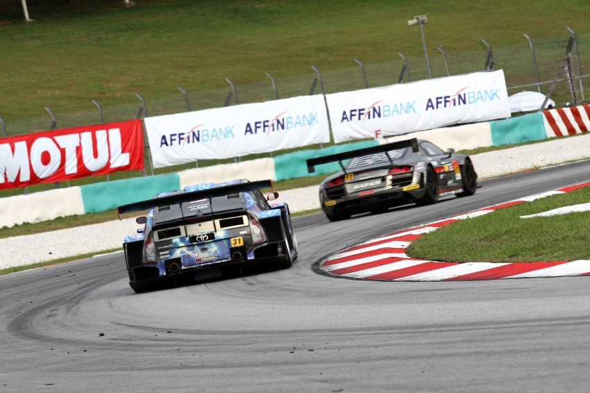 Autobacs Super GT 2012 Round 3: Weider HSV-010 and Hankook Porsche win from pole position Image #111912