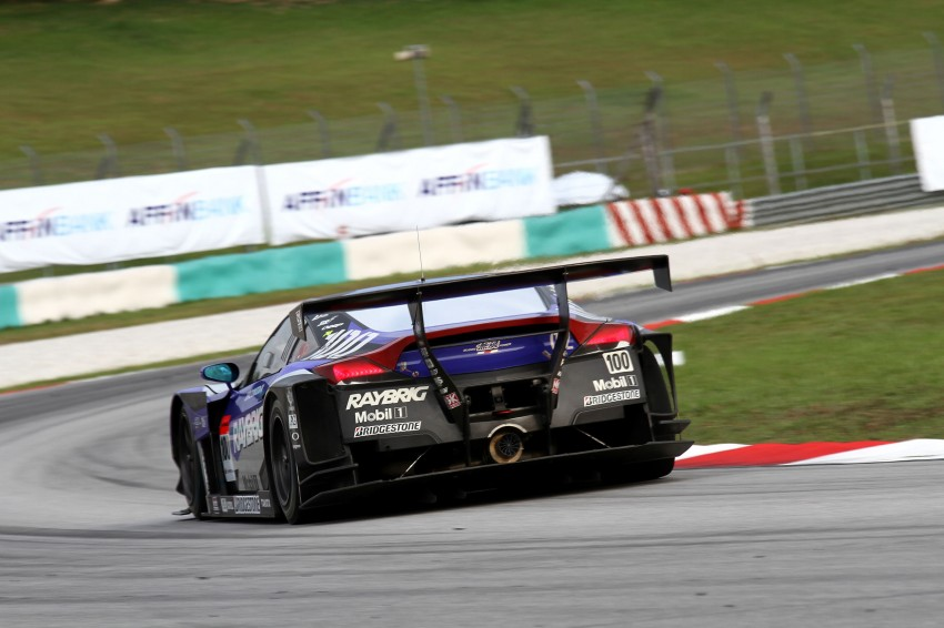 Autobacs Super GT 2012 Round 3: Weider HSV-010 and Hankook Porsche win from pole position Image #111923