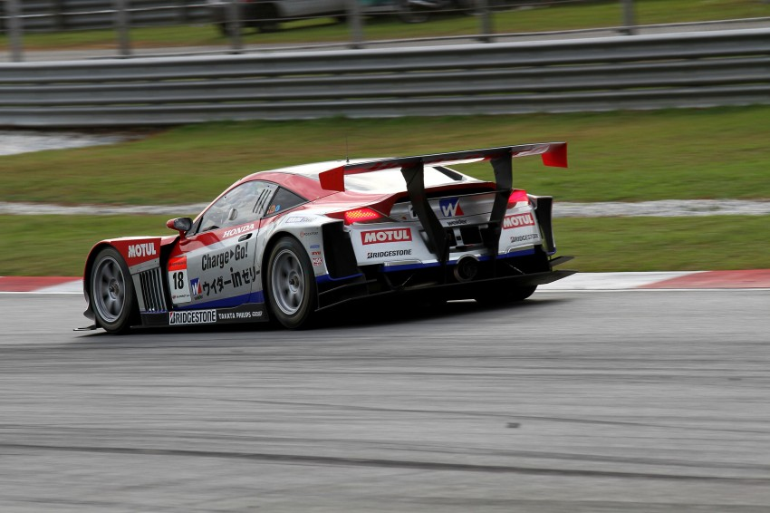 Autobacs Super GT 2012 Round 3: Weider HSV-010 and Hankook Porsche win from pole position Image #111931