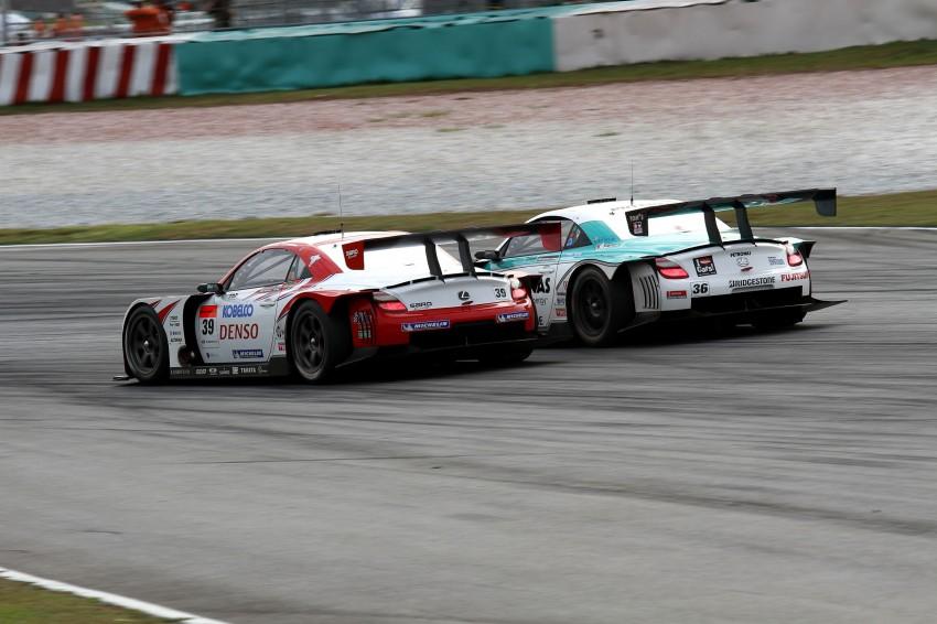 Autobacs Super GT 2012 Round 3: Weider HSV-010 and Hankook Porsche win from pole position Image #111940