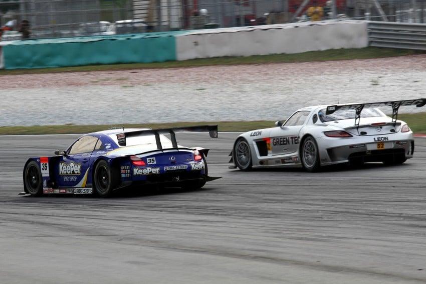Autobacs Super GT 2012 Round 3: Weider HSV-010 and Hankook Porsche win from pole position Image #111944
