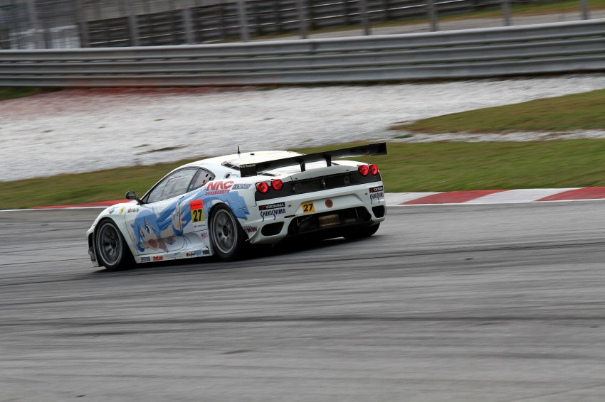 Autobacs Super GT 2012 Round 3: Weider HSV-010 and Hankook Porsche win from pole position Image #111955