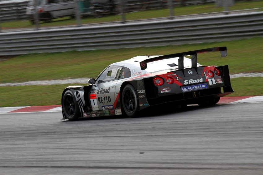 Autobacs Super GT 2012 Round 3: Weider HSV-010 and Hankook Porsche win from pole position Image #111960