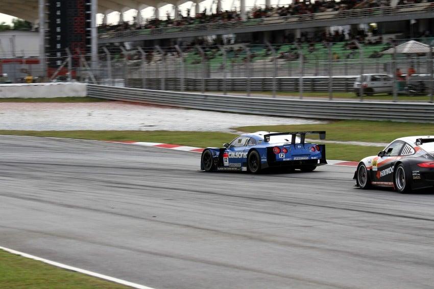 Autobacs Super GT 2012 Round 3: Weider HSV-010 and Hankook Porsche win from pole position Image #111967