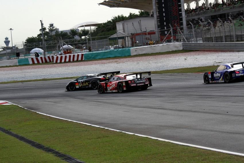 Autobacs Super GT 2012 Round 3: Weider HSV-010 and Hankook Porsche win from pole position Image #111970