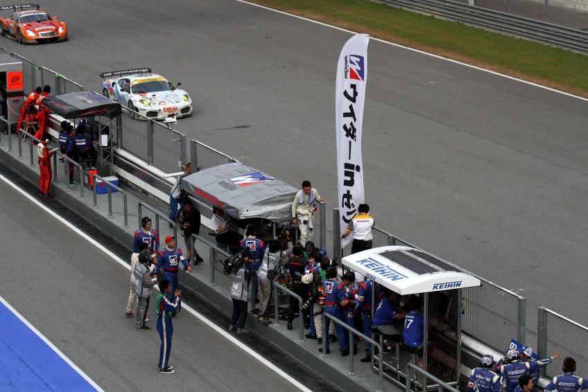 Autobacs Super GT 2012 Round 3: Weider HSV-010 and Hankook Porsche win from pole position Image #111974