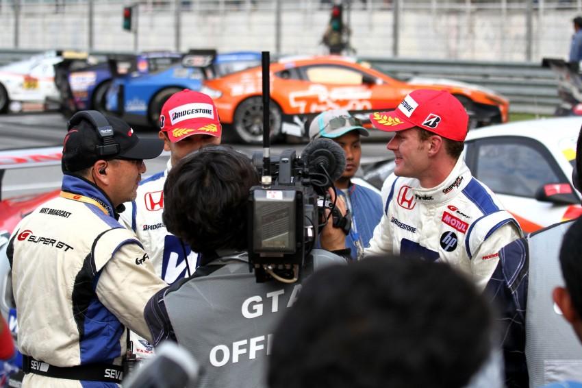 Autobacs Super GT 2012 Round 3: Weider HSV-010 and Hankook Porsche win from pole position Image #111976