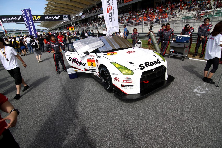 Autobacs Super GT 2012 Rd 3: Scenes before the race Image #111607