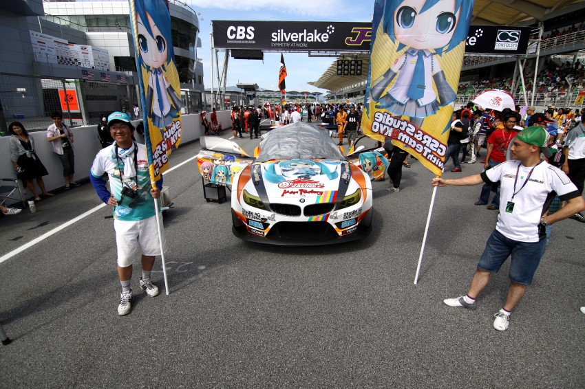 Autobacs Super GT 2012 Rd 3: Scenes before the race Image #111609