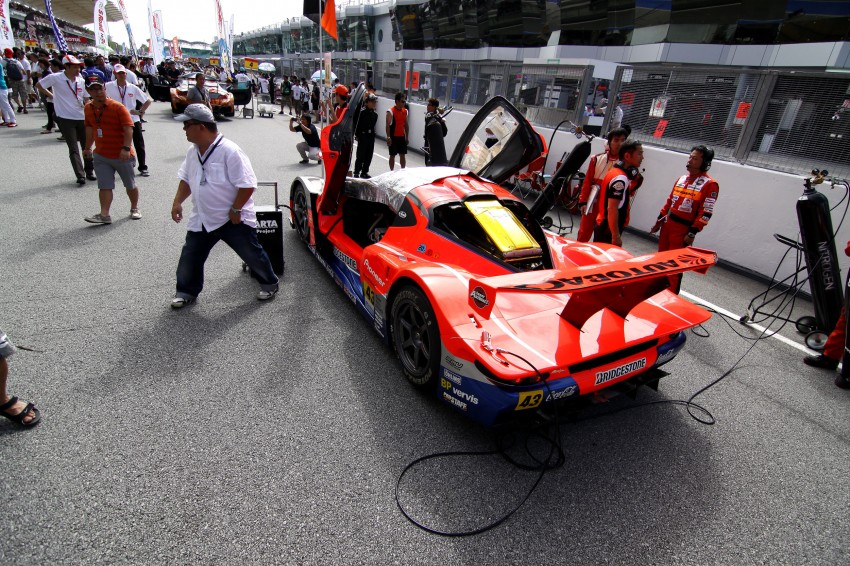 Autobacs Super GT 2012 Rd 3: Scenes before the race Image #111612