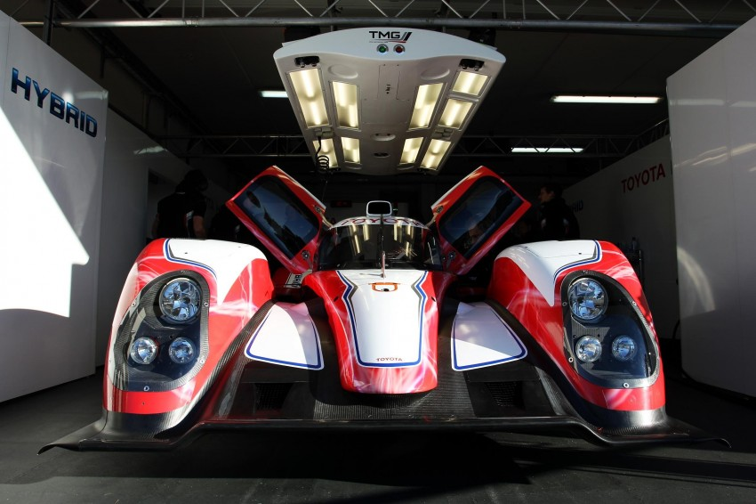 Toyota TS030 Hybrid – the Le Mans challenger unveiled Image #84935