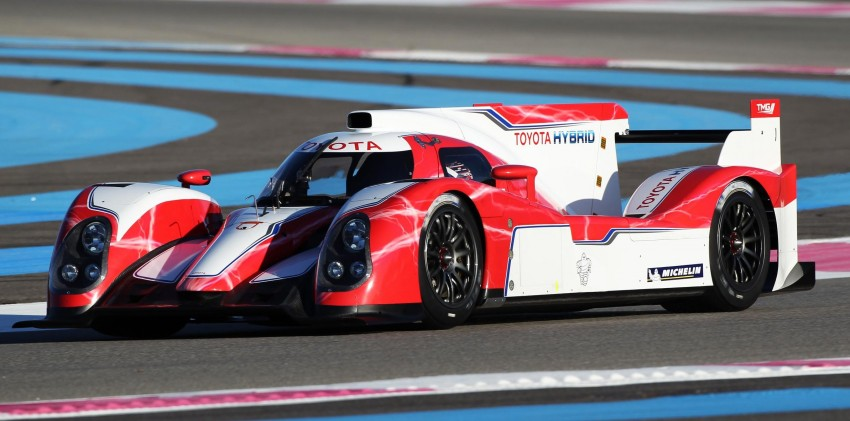Toyota TS030 Hybrid – the Le Mans challenger unveiled Image #84937